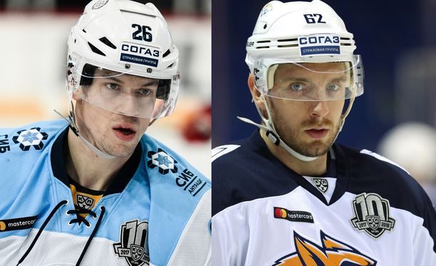 30-vuotiaat Jonas Enlund ja Oskar Osala ovat molemmat tehneet pitkän KHL-uran.