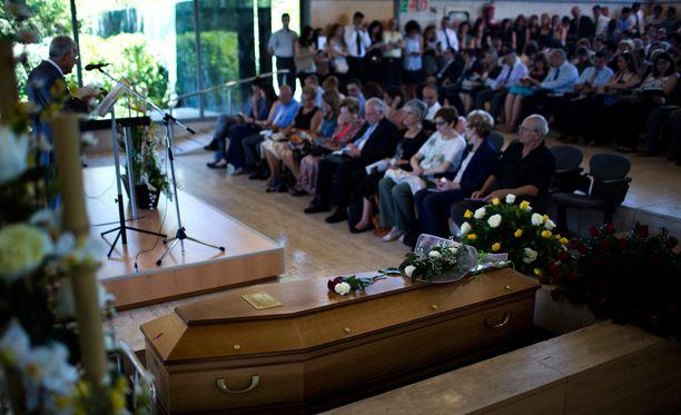 Germanwings-turmassa menehtyneen espanjalaismiehen hautajaiset pidettiin kesäkuun loppupuolella Barcelonassa.