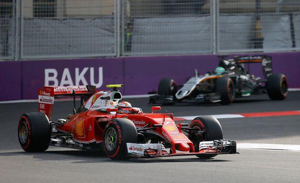 Kimi Räikkönen putosi pois palkintopallilta.