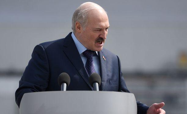 Valko-Venäjän diktaattori Aleksander Lukashenko haluaa vuoden 2021 MM-kisat.