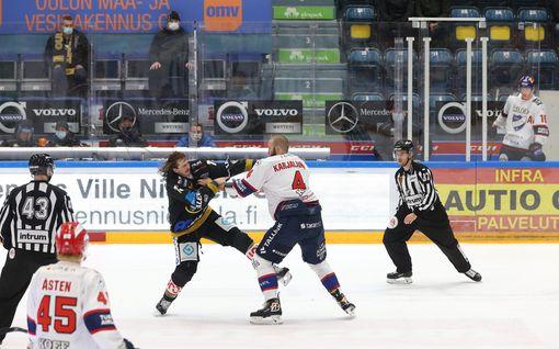 """HIFK-hyökkääjä sivalsi Kärppiä likaisen pelin jälkeen: """"Aika lapsellista, että he alkavat sikailla"""""""