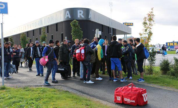 Haaparannan ja Tornion rajalta on tullut Suomeen runsaasti turvapaikanhakijoita.