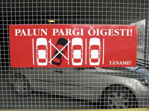 Virossa saadut parkkisakotkin jäävät suomalaisilta helposti maksamatta.