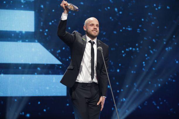 Teemu Pukki valittiin Vuoden urheilijaksi.