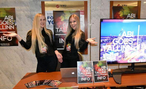 Abi Goes Tallinn –matkan parissa työskentelee suuri joukko nuoria.