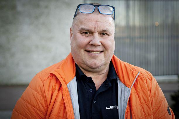 Timo Jutila täyttää jouluaattona 55 vuotta. Hän toimi Leijonien kipparina arvokisoissa vuosina 1993–97.