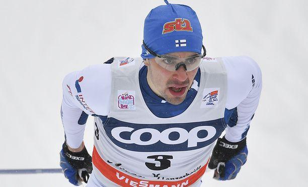 Ristomatti Hakola on Suomen sprinttispesialisti.