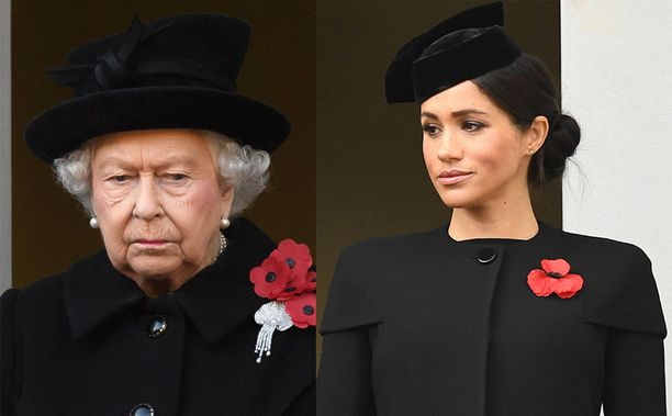 """Kuningatar Elisabet kielsi jo aiemmin raskaus-sanan käytön. Nyt Meghanin tilastakaan ei ole käytetty raskaus-sanaa, vaan hänen on sanottu olevan """"pieniin päin""""."""
