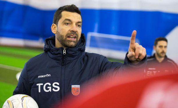 Legirus Interin Tito Garcia Sanjuan on valmentanut Villarrealin Gerard Morenoakin.