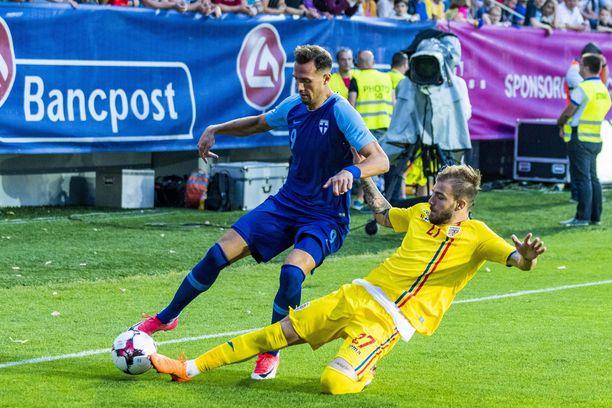 Berat Sadik pelasi viime kesäkuussa Romaniaa vastaan.