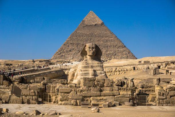 Isku tapahtui lähellä Gizan pyramideja. Arkistokuva.