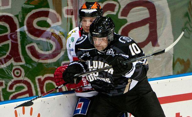 Sean Bergenheim on viimeistellyt toisella Frölundan-visiitillään neljässä ottelussa tehot 1+2.