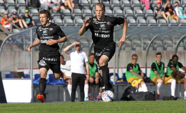 FC Lahdessa Hovi pelasi muun muassa Eero Korten kanssa.