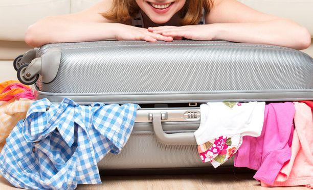Pienillä järjestelyillä matkalaukkuun tulee lisätilaa.