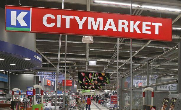 Lielahden K-citymarketissa pelattiin onnekas Eurojackpot-rivi. Kuvituskuva.