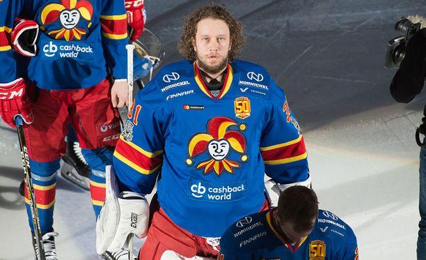 Karri Rämö pelasi loistavan kevään Jokerien maalilla.
