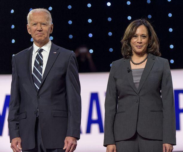 Joe Biden valitsi senaattori Kamala Harrisin varapresidenttiehdokkaakseen.