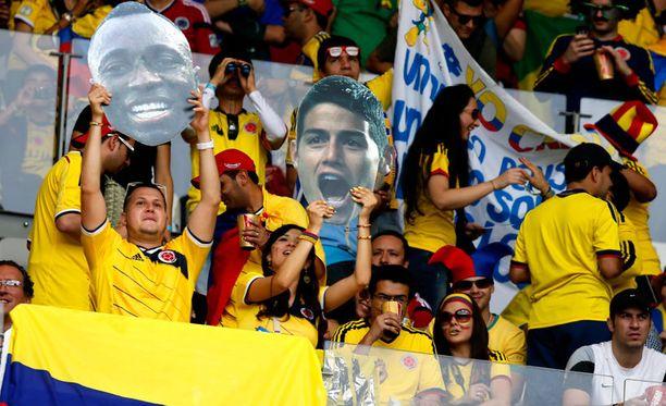 Kolumbia kohtaa Kreikan.