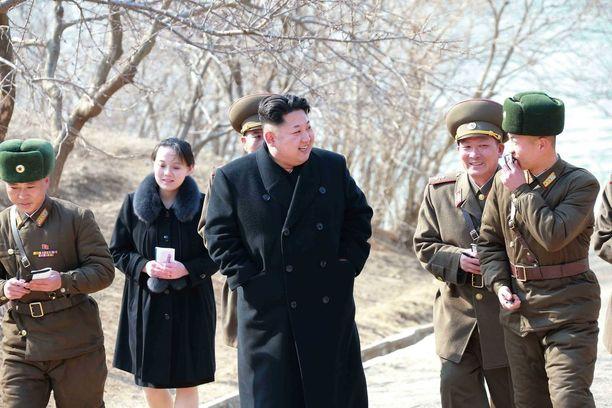 Kim Jong-un ja Trump ovat vaihtaneet solvauksia jo kuukausien ajan.