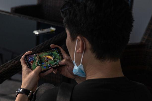 Verkkopelit ovat erittäin suosittuja Kiinassa.
