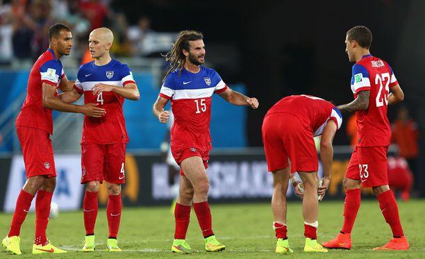 USA juhli voittoaan.