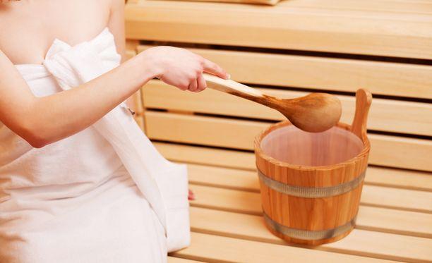Tottuneelle saunojalle jo ajatus saunomisesta voi tuoda hyvää oloa.