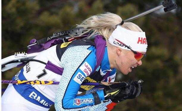 Mari Laukkanen otti upean voiton perjantaina Oslossa.