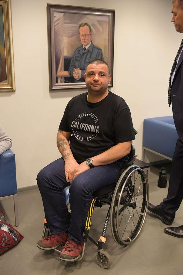 Hassan Zubier jää todennäköisesti pyörätuoliin Turun puukotuksissa saamansa vamman vuoksi.