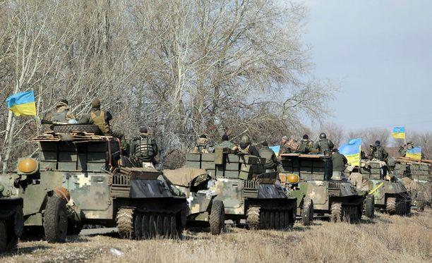 Venäjä syyttää Suomea Ukrainan aseistamisesta.