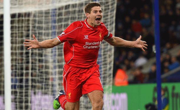 Steven Gerrard kipparoima Liverpool kohtaa tänään Baselin.