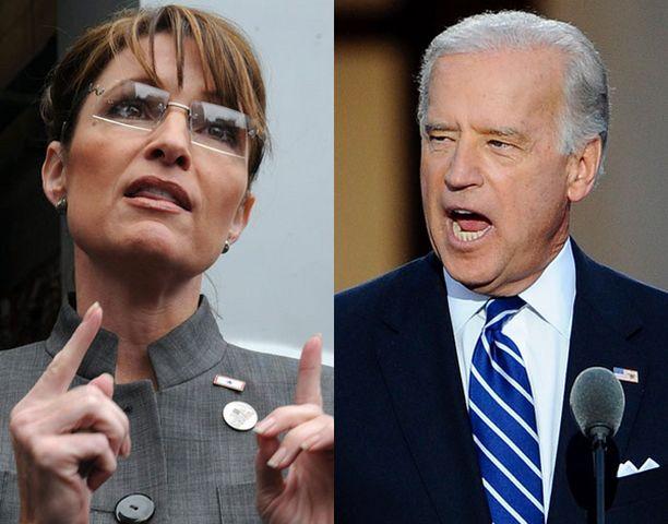 Sarah Palin ja Joseph Biden ovat kuin toistensa vastakohtia.