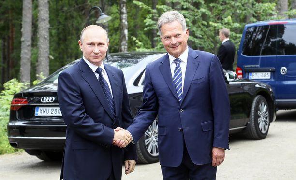 Kesällä Punkaharjulla vierailleelta Vladimir Putinilta ei irronnut onnittelua satavuotiaalle Suomelle, vaikka sitä odotettiin.