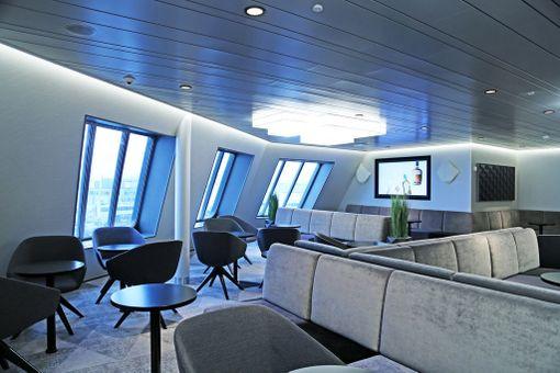 Tallink Megastarin Comfort Lounge.