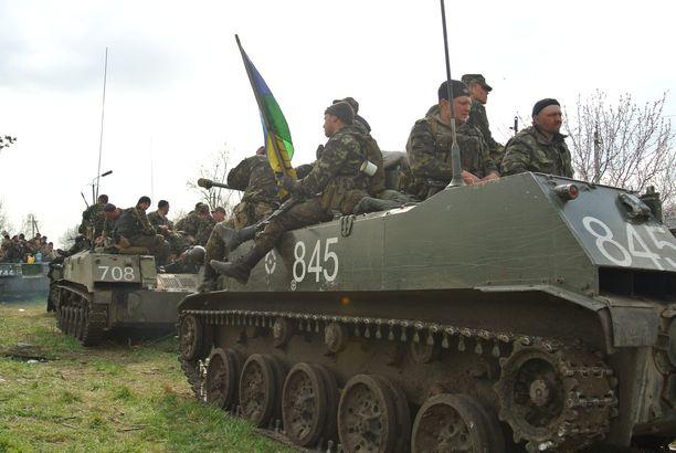 Vielä keväällä 2014 Ukrainan asevoimat oli niin sanotusti rapakunnossa kalustonsa puolesta.