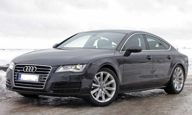 Audi A7 kiinnosti eniten yksittäisistä autoista. (Kuvituskuva).