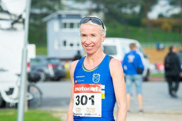 Annemari Kiekara voitti jälleen yhden uuden Suomen mestaruuden.