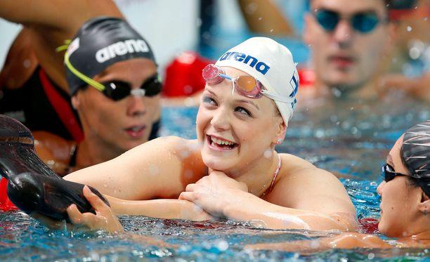 Emilia Bottaksella on edelleen hallussaan kolme henkilökohtaista uinnin SE-tulosta.