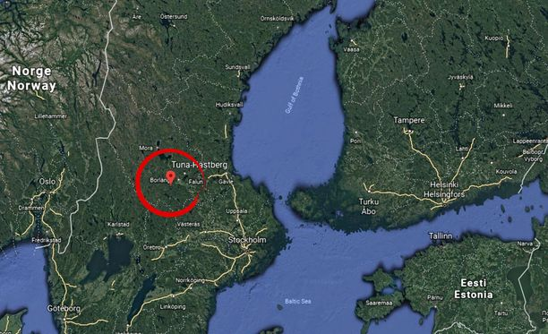 Onnettomuus tapahtui Tuna-Hästbergsin kaivoksessa.