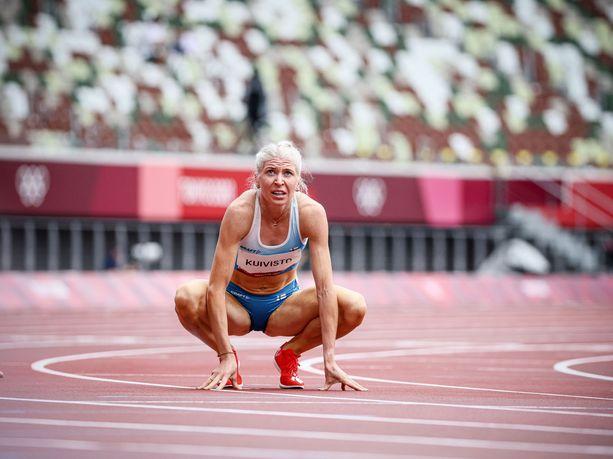 Sara Kuivisto oli elämänsä kunnossa Tokion kisoissa.