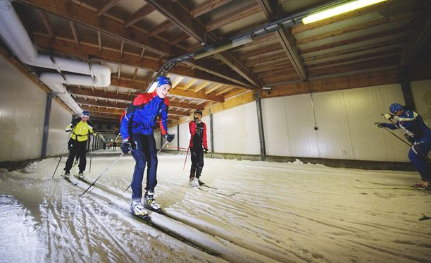 Jämijärvellä on ollut hiihtoputki vuodesta 2002 lähtien. Yhteen suuntaan hiihdettävää matkaa on reilut 600 metriä.