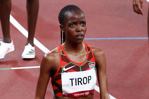 Agnes Tirop on kuollut.