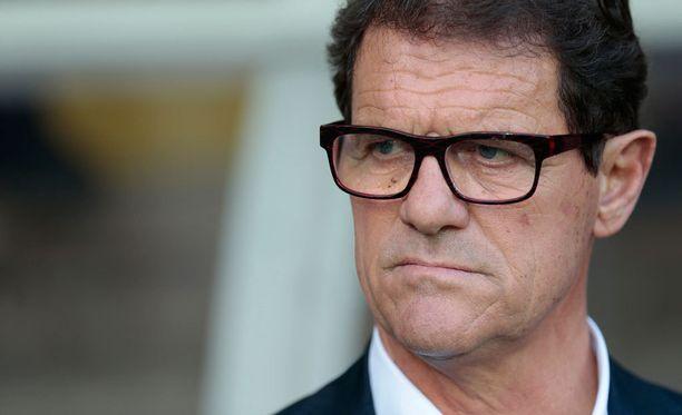 Fabio Capelloa ei enää nähdä Venäjän jalkapallomaajoukkueen peräsimessä.