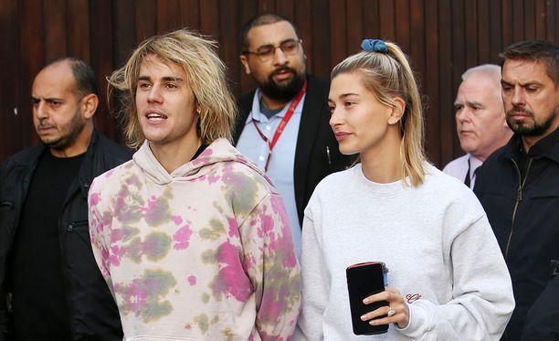 Justin Bieber ja Hailey Baldwin nähtiin yhdessä Lontoossa.
