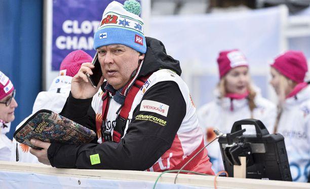 Reijo Jylhä on Suomen hiihtovaltakunnansovittelija.