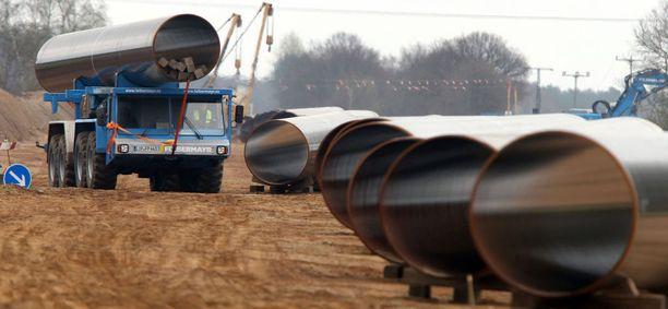 Nord Stream -kaasuputken rakentaminen oli käynnissä huhtikuussa 2011. Nyt putki toimii ja sen rinnalle halutaan toinen.