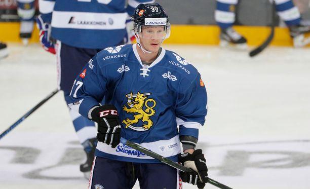 Mika Pyörälä oli vanhoilla päivillään Leijonien Karjala-pistekunkku.