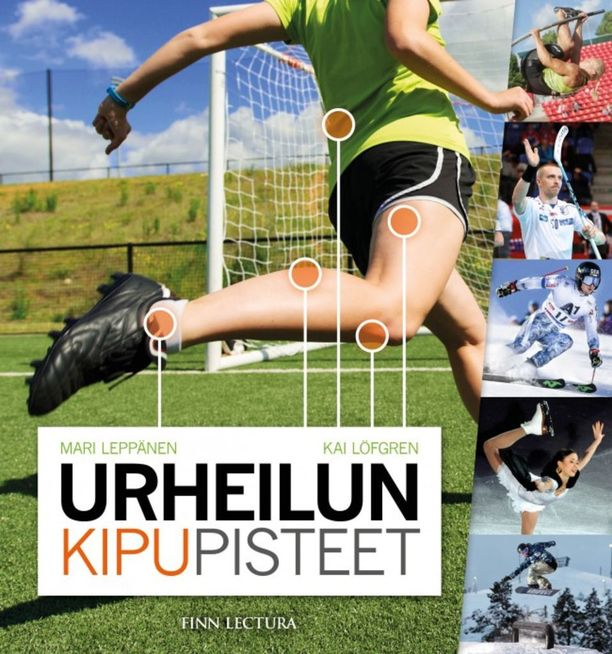 Matti Lehikoisen ja monien muiden entisten huippu-urheilijoiden loukkaantumistarinoita ja -kokemuksia voi lukea Mari Leppäsen ja Kai Löfgrenin kirjoittamasta, tällä viikolla ilmestyvästä Urheilun kipupisteet -kirjasta (Finn Lectura).