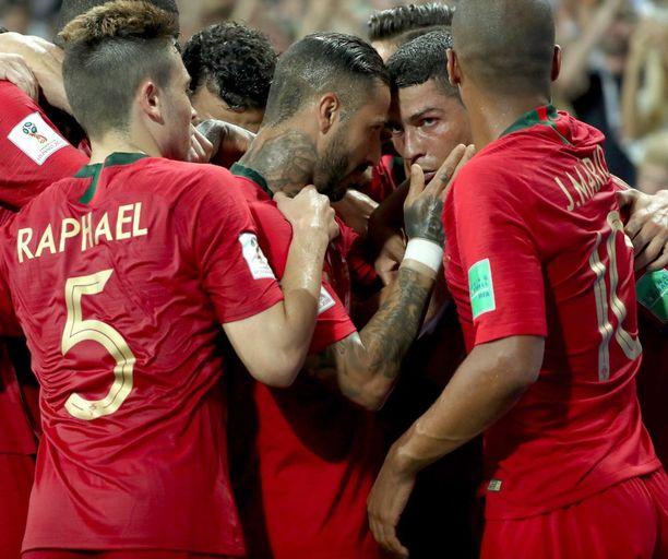 Portugali kohtaa Marokon Moskovassa tänään kello 15.