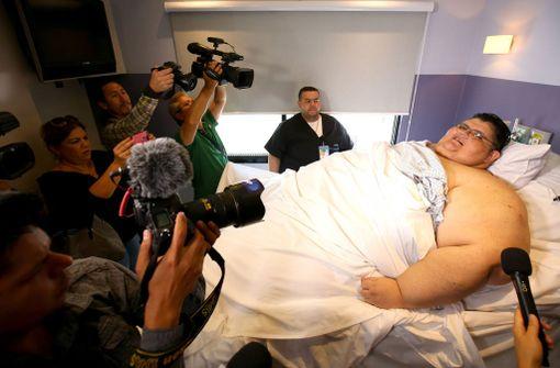 Juan Pedro Franco herätti median kiinnostusta, kun hänelle tehtiin mahalaukun leikkaus viime toukokuussa.