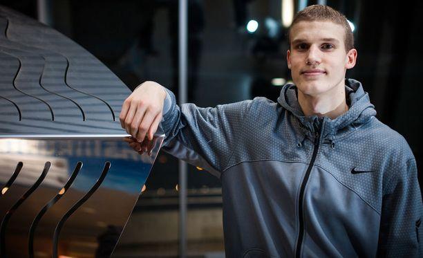 Lauri Markkanen aloittaa ensi syksynä Arizonan yliopistossa.